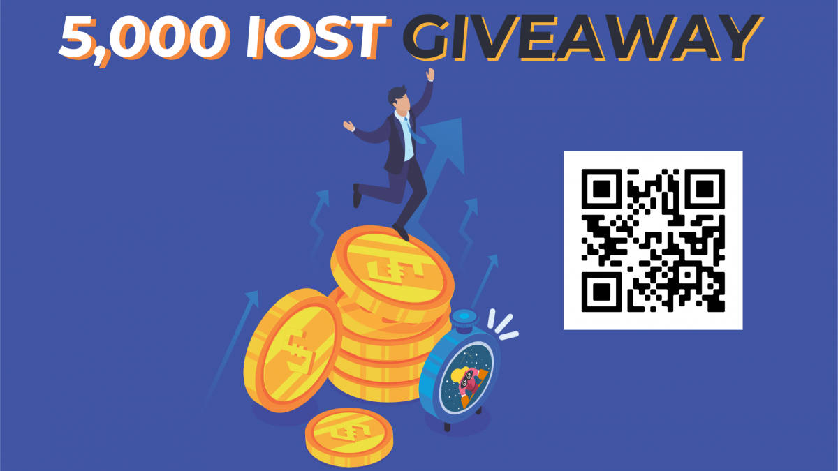 IOST Watch $IOST Giveaway