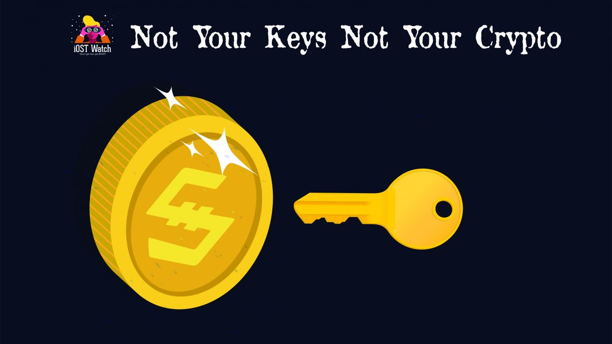 Not Your Keys, Not Your Crypto