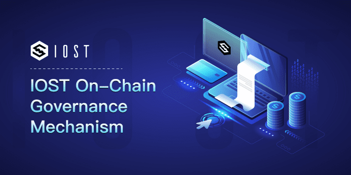 IOST On-Chain Governance Mechanism now Available