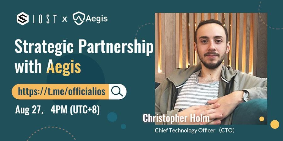 Recap of IOST AMA with Aegis CTO Christopher Holm